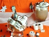 Halloween Chocolate Marshmallows