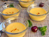 Aam Doi | Bengali Baked Mango and Yogurt Dessert