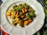 Broccoli Salad in Mustard Dressing | How to make Broccoli Salad in Mustard Dressing