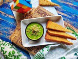 Capsicum and Cheese Dip | How to make Capsicum and Cheese Dip