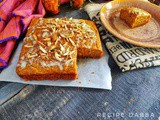 Carrot Halwa Cake | How to make Carrot Halwa Cake