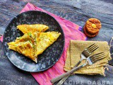 Egg and Oats Wrap | How to make Egg and Oats Wrap