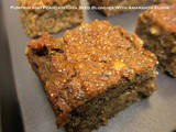 Vegan Pumpkin & Plantain Chia Seed Blondies