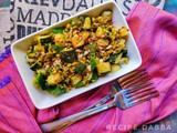 Zucchini & Sprouts Salad | How to make Zucchini & Sprouts Salad