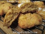Banana Nut Cake Mix Cookies