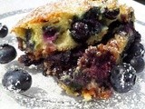 Blueberry Coffee Cake with Cinnamon Pecan Streusel