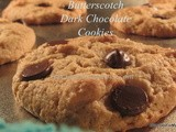 Butterscotch Dark Chocolate Chip Cookies