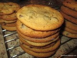 Dark Chocolate Chip Biscuit Mix Cookies
