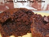 Double Chocolate Mayo Muffins