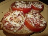Garlic Parmesan Bruschetta