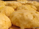 Lemon Cream Cheese Cookies