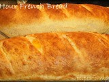 One Hour French Bread