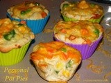 Personal Pot Pies and a Rhodes Giveaway
