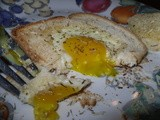 Thyme for Garlic Parmesan Egg In the Hole