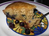 Whole Wheat Blueberry Mango Coffee Cake and Robin's Sour Cream Coffee Cake