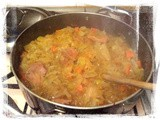 Winter Pork and Sauerkraut Stew
