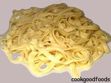 Fresh Pasta Recipe :Basic Homemade Pasta Recipe