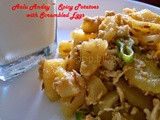 Alu Anday | Scrambled Eggs with Spicy Potatoes | Breakfast Ideas