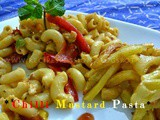 Chilli Mustard Chicken Pasta Recipe