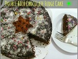 Double Rich Chocolate Fudge Layer Cake Recipe | Eid Cake Recipes | Chocolate recipes
