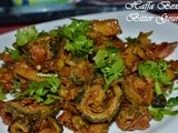 Fried Karela Aalu Recipe : Fried Bitter Gourd with Potatoes : a Beautiful Guest Post by Haffa Bexi | Vegetarian Recipes