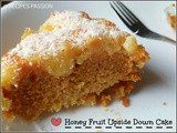 Honey Fruit Cake | Cocktail Upside Down Cake