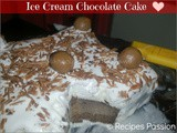 Ice cream Chocolate Cake | Easy Home made