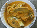 Alleppey fish curry / Fish with raw mango in coconut gravy