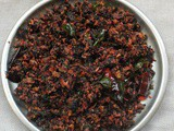 Cheera thoran / Red spinach stir fry