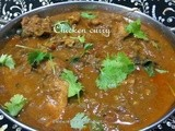Chicken curry(Easy method)