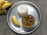 Varutharcaha kadala curry / Chickpeas in roasted coconut gravy kerala style