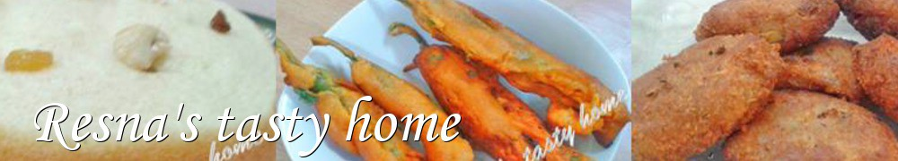 Very Good Recipes - Resna's tasty home