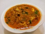 Egg curry (Mutta curry)- simple way