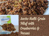 Ancho Multi-grain Pilaf with Cranberries and Pecans