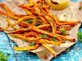 Best Crispy Baked Sweet Potato Fries Recipe Ever