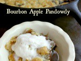 Bourbon Apple Pandowdy in an Iron Skillet