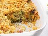 Broccoli Casserole with Ritz Crackers