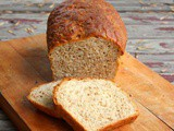 Buttermilk Honey Cracked Wheat Bread