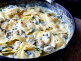 Chicken Alfredo Ravioli: 15 Minute Dinner Idea
