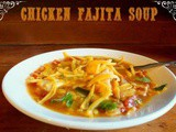 Chicken Fajita Soup in the Slow Cooker