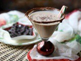 Chocolate Peppermint Martini #Choctoberfest