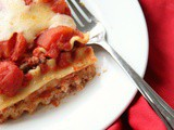 Classic Lasagna with Fresh Cheeses