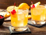 Classic Whiskey Sour Cocktail Recipe