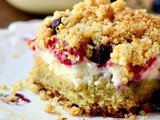 Cream Cheese Coffee Cake with Summer Berries
