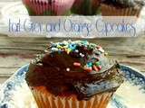 Earl Grey and Orange Cupcake Recipe with Dark Chocolate Frosting
