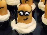 Easy, Edible Minion Cupcake Toppers