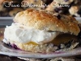 Faux Devonshire Cream