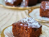 Gingerbread Recipe {Old Fashioned Snack Cake}