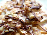 Homemade Bourbon Peanut Brittle in 20 Minutes