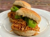 Honey Hatch Chile Chicken Sliders